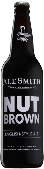 "Пиво AleSmith, ""Nut Brown Ale"""