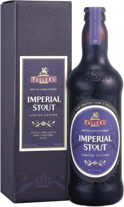 Пиво Fuller's, Imperial Stout, in gift box, 0.5 л