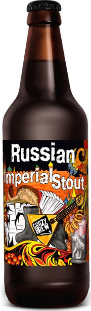 Пиво Crazy Brew, Russian Imperial Stout