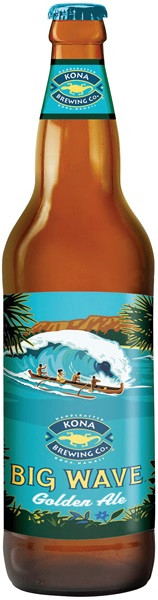 "Пиво Kona, ""Big Wave"" Golden Ale"