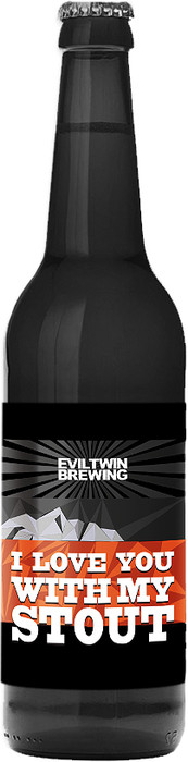 "Пиво Evil Twin, ""I Love You With My Stout"""