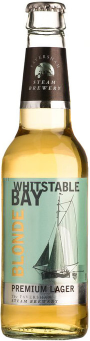 "Пиво ""Whitstable Bay"" Blonde Premium Lager"