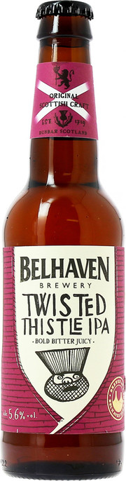 "Пиво Belhaven, ""Twisted Thistle"" IPA"
